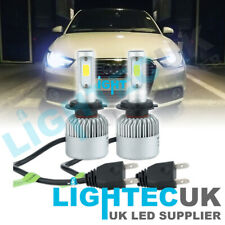 AUDI A1 2011-2018 H7 CANBUS LED LOW BEAM HEADLIGHT BULBS 72W 6500K PAIR WHITE UK