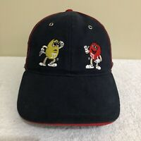 M&M's Mars Chocolate Vintage 2002 Promo Strapback Adult Mens Cap Hat