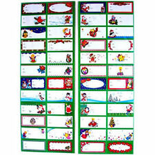 48 Christmas Holiday Self Adhesive Gift Tags Labels New