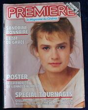 PREMIÈRE CINÉMA + Fiches - S. Bonnaire, Spécial Tournages... - N°105 / 1985