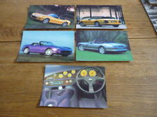 TVR  CHIMEARA  FACTORY ISSUED POSTCARDS X 5 - BROCHURE CONNECTED