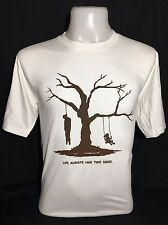 Hung on a Tree Cool Fun T Shirts For Sale 100% Cotton Free Shipping.
