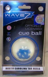 NEW! NCAA Wave North Carolina Tar heels Licensed Collector Cue Ball Billiard