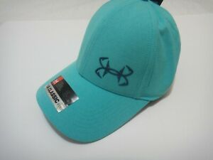 Under Armour Coolswitch Men Hat Fish Hooks Color Green Blue Size Small