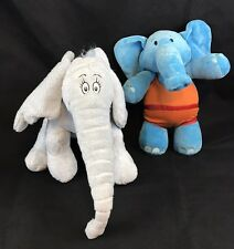 Horton Hears A Who Elephant And Disney Dinky Elephant Plush Stuffed Animal Gift