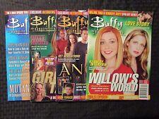 2002-03 BUFFY THE VAMPIRE SLAYER Magazine LOT of 4 VF #2 6 8 10 Sarah Gellar