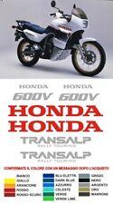 KIT Adesivi Honda Transalp 600v 87 rally touring decals stickers enduro