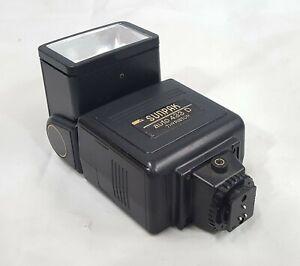 Sunpak Camera Flash Auto 433D Thyristor for Minolta Made in Japan Nice!!!
