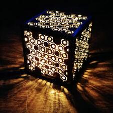 Leuchtwürfel Miyu #014 aus Stahl von LICHTfunken - Lichtwürfel Cube / Würfel