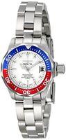 Invicta Women's Pro Diver Quartz 100m Silver Tone Stainless Steel Watch 8940