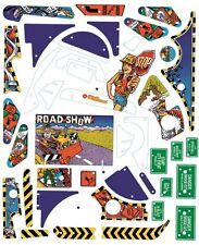 Road Show pinball replacement plastic set