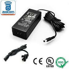 High Quality AC/DC Adapter, Power Supply, 24V/2A,10ft Cord, 5.5mm Barrel
