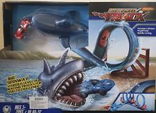 Tiburón Bebé Tiburón Devorador de alta velocidad pista caliente coche de juguete, devorador de pista Tiburón Divertido Regalo