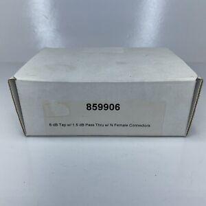 Wilson Electronics - P/N 859906, 6 dB Tap w/ 1.5 dB Pass Thru w/ N Female Connec