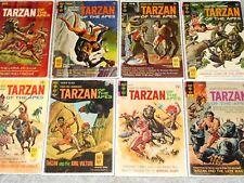 Tarzan of the Apes (Lot of 8) VG/FN (5.0) #164 166 175 176 177 199 205 206