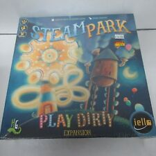 IELLO Steam Park Play Dirty Expansion New Sealed