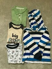Gymboree Boys Hoodie And 3 Tops -Sz. 4T, 4, 5, 5-6