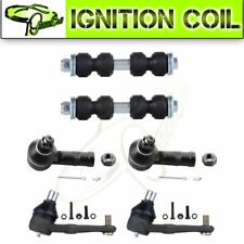 6 Pieces Steering Ball Joint Stabilizer Bar Link Parts For 1997-2003 Ford Escort