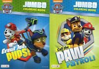 Paw Patrol Jumbo Coloring and Activity Book (Set of 2 , Design may vary)