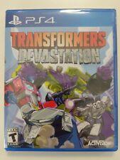 Transformers Devastation PS4 Playstation 4 Rare New Sealed | Free Express Post!