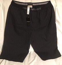 Genuine EMPORIO ARMANI MEN'S Underwear BERMUDA XL nera nuova con etichetta