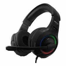 Headset Headphone QPAD QH25 Stereo 7.1 USB RGB LED PC Sony PS4 Xbox Switch NSW