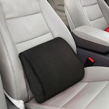 Memory Foam Car Seat Chair Lumbar Support Cushion Back Pain Height Booster