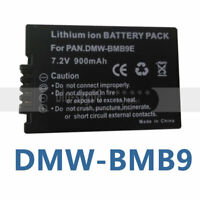 DMW-BMB9E Battery Pack For Panasonic FZ48 FZ100 DMC-FZ100 FZ150 FZ60 ZS40K