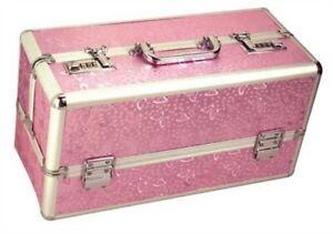 LOCKABLE ADULT CASE KEYLESS STORAGE PRIVACY BOX PINK