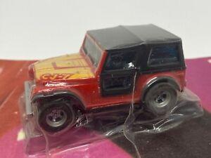 Aurora AFX Magnatraction - Jeep CJ-7 - HO Slot Car