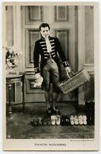 1930s Vintage movie star film RAMON NOVARRO photo postcard