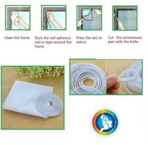 Insect screen Mesh Window Set Insect Fly Bug Mosquito Netting 1500 x 1300mm