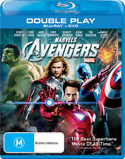 The Avengers - Double Play (Blu-ray + DVD) - BRAND NEW + SEALED - AUS REGION B