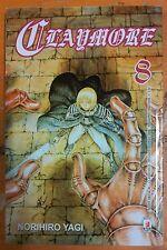 Claymore  8 di Norihiro Yagi ed.Star Comics sconto 10%