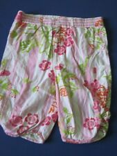 Oilily Vintage Girl Capris 92 2T Pink White Stripe Flower Summer Spring Need TLC