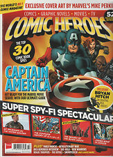 COMIC HEROES Magazine #22 Mar 2014,COMIC/GRAPHIC NOVEL/MOVIE/TV, CAPTAIN AMERICA