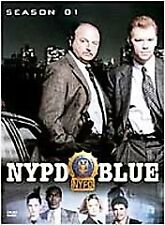 NYPD Blue - Season 1 (DVD, 2003, 6-Disc Set) INCLUDES ALL PACKAGING