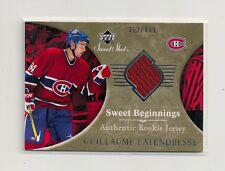 2006-07 Upper Deck Sweet Shot Rookie Jersey #134 Guillaume Latendresse 312/499