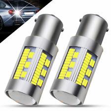 2X 1156 LED BA15S PY21W CANBUS 105 SMD 4000LM White 6000K  Car Turn Signal Light