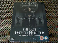 Blu Steel 4 U: The Last Witch Hunter : Limited Edition Steelbook Sealed