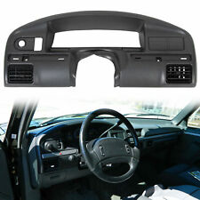 For 94 97 Ford F150 F250 F350 Dash Board Panel Bezel Instrument Cluster Trim Fits 1997 Ford F 150