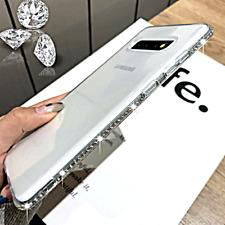 COVER per Samsung Galaxy S10 A50 A70 A40 A10 A30s Plus Silicone Strass Diamanti