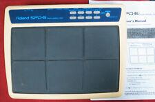 Roland SPD-6 Percussion MIDI trigger drum pad spd6
