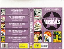 Second Chorus/The Fabulous Dorseys/5 Star Musicals:Vol 2-5 Movie Musicals-DVD