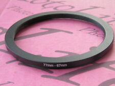 77mm to 67mm 77-67 Stepping Step Down Filter Ring Adapter 77mm-67mm