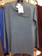 NWT!!! Celeste Ladies' Wool/Cashmere Sweater US Size M Color: Dusty Teal