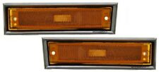 1981-1991 Chevy Pickup Suburban S10 Blazer Left & Right Side Marker Pair L+R