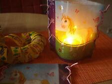Teelicht Deko Lampenschirm Windlicht Tischdeko Dschungelbuch Disney Cars Pferd