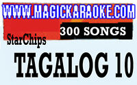 MAGIC SING ONSTAGE STARCHIP TAGALOG 10 FOR ET28KH SONGCHIP TAGALOG/ENGLISH
