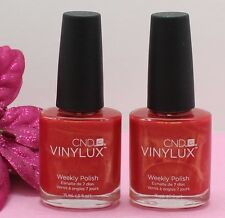 CND VINYLUX WEEKLY POLISH HOLLYWOOD # 119  0.5 OZ  2 PACK BNNB 100% AUTHENTIC